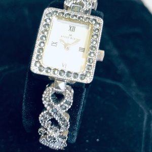 Anne Klein Crystal Dress Watch